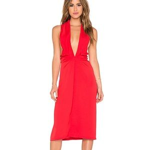 Dresses & Skirts - Maurie & Eve Red Halter Dress